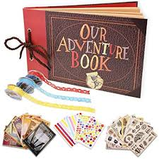Our Adventure Book Scrapbook Photo Album Handmade Diy Scrapbook Album Expandable 80 Pages With Accessories Kit Wonderful Gift For Family Anniversary