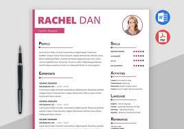 Enrich Free Creative Resume Template Doc Maxresumes