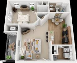 Attractive 1x1A ( One Bedroom Apartments