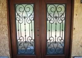 reeded glass door iron glass door installation reeded glass exterior door
