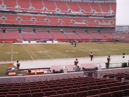 Cleveland Browns Stadium Seating Chart View Firstenergy Stadium Cleveland View From Lower Level 132a