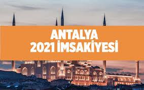 Antalya sahur saati imsak vakti Antalya 2021 ramazan imsakiyesi - Internet  Haber