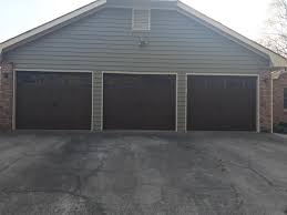 a picture of a new garage door