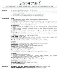 Beautiful Background Actor Resume Format Embellishment Resume