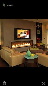 wall mounted fireplace or inserted