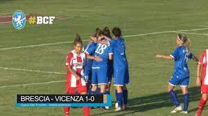 Acf Brescia Calcio Femminile - Coppa Italia Timvision 2020/2021: Brescia- Vicenza 1-0 Highlights