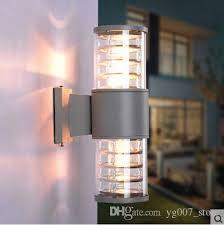 best quality 10w up down outdoor led wall light cylinder porch lamp exterior light luminaria side aluminum waterproof garden light 110v 240v at