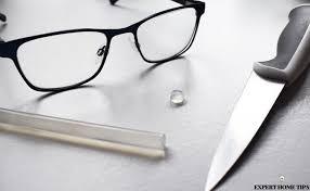 do some repairs repairing glasses genius hot glue