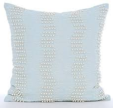 Light Blue Throw Pillow Covers