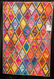 "807 best Kaffe Fassett quilts images on Pinterest | Kid quilts ... & ""Fascinating Diamonds"" by Rebecca Nulty. 2016 El Camino Quilters guild  show… Find this Pin and more on Kaffe Fassett quilts ... Adamdwight.com"