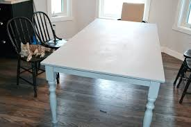 painting my kitchen table a shabby chic farmhouse table with chalk paint the painting wood table