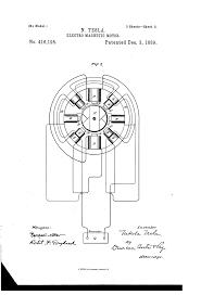 Motor medium size patent us416195 tesla patents drawing track circuit servo motor control