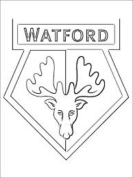 Kleurplaat Met Watford Fc Embleem Gratis Kleurplaten