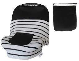 baby car seat covers for girls boys stretchy infant canopy cover