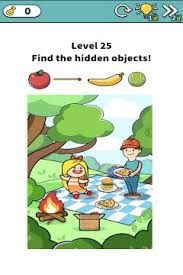 Download free hidden object games for pc! Brain Puzzle Find The Hidden Objects Level 25
