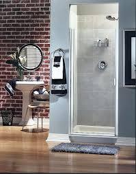 300c series frameless continuous hinge shower door