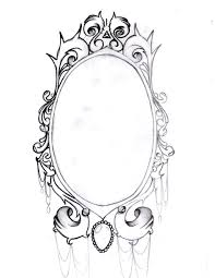 vintage mirror drawing. Vintage Mirror Frame By AimStar.deviantart.com On @deviantART Drawing O