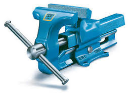 Combination Pipe And Bench Vise Swivel BaseBench Vise 6