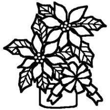 ポインセチア2白黒クリスマスの花ミニカットクリスマス無料