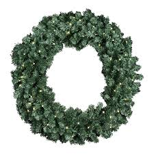 Battery Pack Lights For Wreath Extra Large 36 Inch Diameter Balsam Pine Christmas Wreath With 360 Tips And 60 Led Lights Battery Operated With Timer
