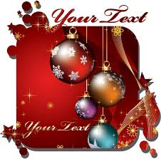 free beautiful christmas cards beautiful christmas cards vector free vector in encapsulated