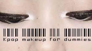 kpop makeup for dummies