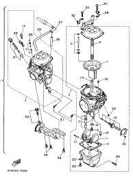 Yamaha 350 warrior carburetor diagram photos
