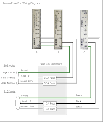 fuse box assembly power supply wiring diagram