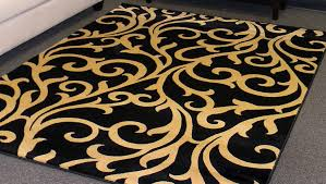 62 most bang up eye catching black and gold rug runner likable room miraculous damask area rugs acceptable floor sweet gorgeous white awesome full