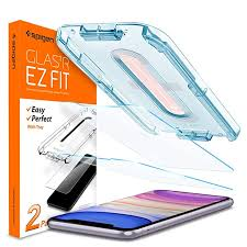 Spigen Tempered Glass <b>Screen Protector for iPhone</b> XR/11; EZ FIT ...