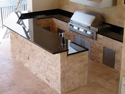Granite For Outdoor Kitchen Outdoor Kitchens Brick Paver Showroom Of Tampa Bay
