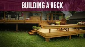 deck ideas. How To Build A Deck Ideas