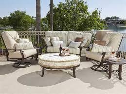Woodard Cortland Cushion Aluminum Spring Lounge Chair