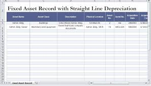 Depreciation Schedule Calculator Straight Line Depreciation Calculator