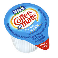 Nestle's coffee mate creamer is recognizable everywhere, and people love it for its rich flavor and thick consistency. Coffee Mate French Vanilla Liquid Coffee Whitener Singles