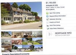 amityville la célèbre maison hantée en vente dans une agence immobilière