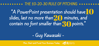 What To Say In Your 1 5 10 Or 20 Minute Pitch Tips From