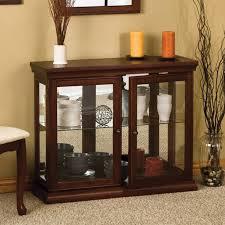 small curio cabinets modern
