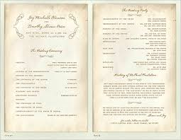Wedding Program Designs 30 Wedding Program Design Ideas To Guide Your Wedding Guests Part