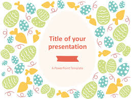 Easter Template Easter Powerpoint Template Style 2 Presentationgo Com