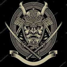Samurai Warrior Design Samurai Warriors Tattoos Stock Vectors Royalty Free