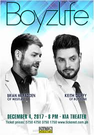 Westlifes Brian Mcfadden And Boyzones Keith Duffy To