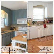 painted kitchen cabinets before and after. Interesting Before Home Decor On The V Side Kitchen Before After Painted  Walls Grey Kitchens With Cabinets And