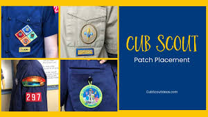 Ultimate Cub Scout Patch Badge Placement Guide 2019 Cub