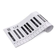 Piano Notes Chart Us 6 75 50 Off Fingering Version 88 Keys Piano Keyboard Fingering Practice Chart Sheet With Notes Stave Reference Piano Guide Assistive Tool On