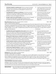 powerful human resources resume example human resources resume page 2
