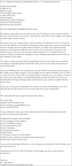 Congratulations Letter On New Job Congratulations Youve Won The Reality Behind Online Lotteries