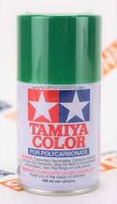 Tamiya Polycarbonate Paint Chart Tamiya Polycarbonate Aerosol Paint Bright Green Ps 25
