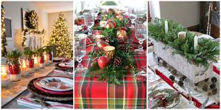 christmas centerpieces for round tables. 49 Best Christmas Table Settings - Decorations And Centerpiece Ideas For Your Centerpieces Round Tables E