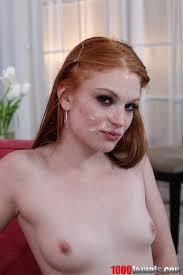 Red heads cum facials